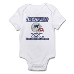 Armadillos Football XXL Infant Bodysuit