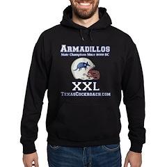 Armadillos Football XXL Hoodie