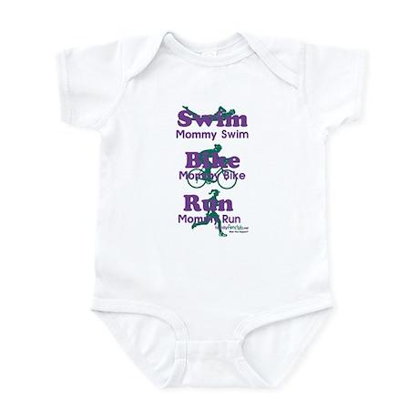 TNT Triathlon Mommy Infant Bodysuit
