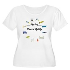 Agility Circle Your Text T-Shirt
