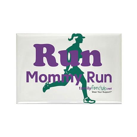 TNT Run Mommy Run Rectangle Magnet