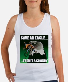 Eagles Football Women's Tank Top