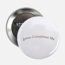 "jesus completes me 2.25"" Button"