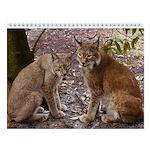 Siberian Lynx Wall Calendar