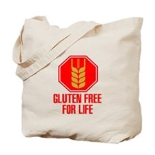 Gluten Free For Life Stop Tote Bag