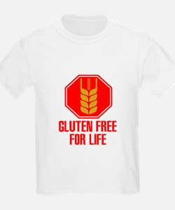 Gluten Free For Life Stop T-Shirt