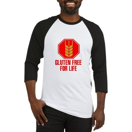 Gluten Free For Life Stop Baseball Jersey