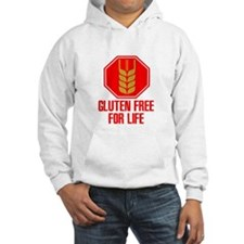 Gluten Free For Life Stop Hoodie