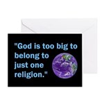 Big God I Greeting Card