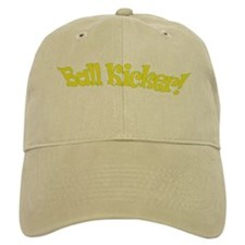 ball kicker Baseball Cap