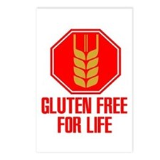 Gluten Free For Life Stop Postcards (Package of 8)