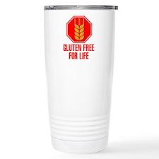Gluten Free For Life Stop Travel Mug
