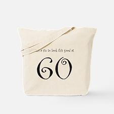 it's a sin 60 Tote Bag