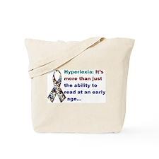 Hyperlexia: It's more... Tote Bag