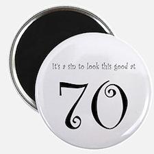 it's a sin 70 Magnet