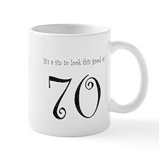 it's a sin 70 Mug