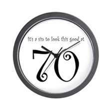 it's a sin 70 Wall Clock