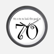 it's a sin 70 Wall Clock