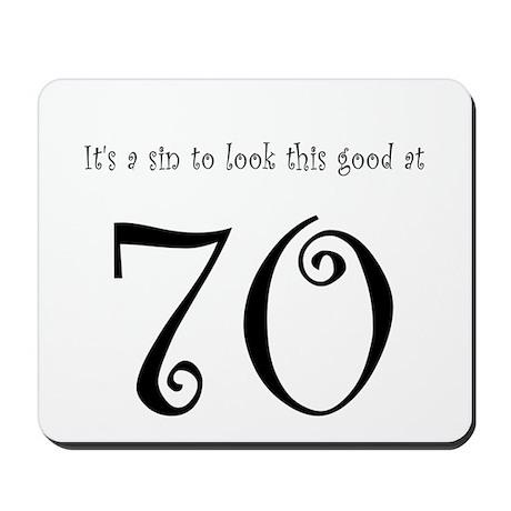 it's a sin 70 Mousepad