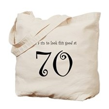 it's a sin 70 Tote Bag