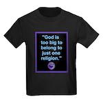 Big God I Kids Dark T-Shirt