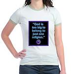 Big God I Jr. Ringer T-Shirt