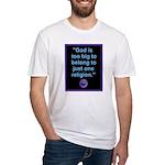 Big God I Fitted T-Shirt