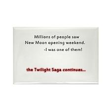 Twilight Saga Rectangle Magnet