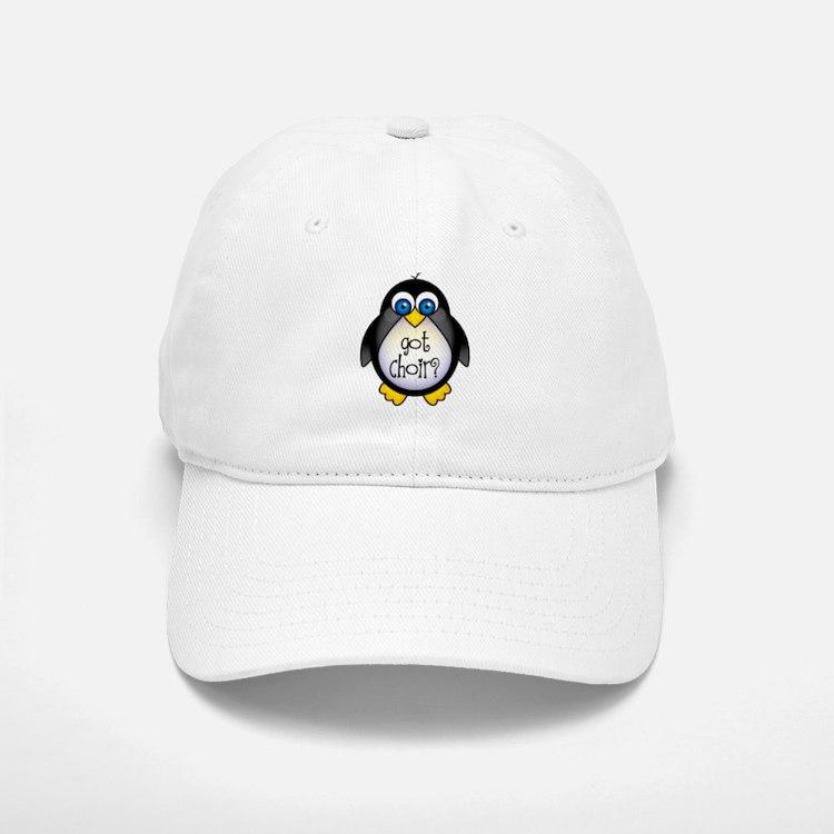 Cute Penguin Choir Baseball Baseball Cap