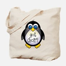 Cute Penguin Choir Tote Bag