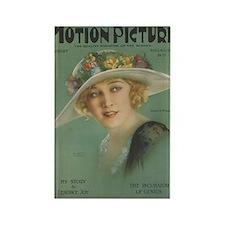 Anna Q. Nilsson 1924 Rectangle Magnet