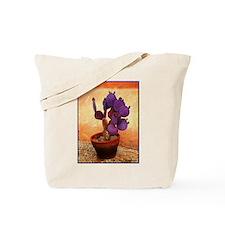 Purple Prickly Pear Tote Bag