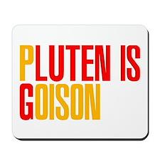 Gluten is Poison Mousepad