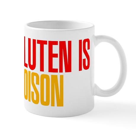 Gluten is Poison Mug