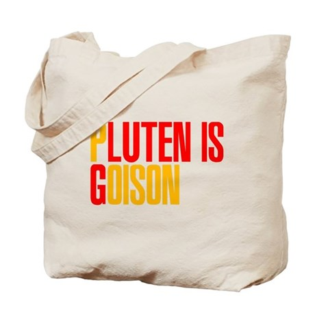 Gluten is Poison Tote Bag