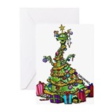 Dragon holiday Greeting Cards (20 Pack)
