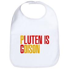 Gluten is Poison Bib