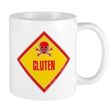 Gluten Poison Warning Mug