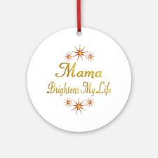Mama Ornament (Round)