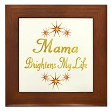 Mama Framed Tile