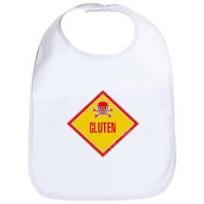 Gluten Poison Warning Bib