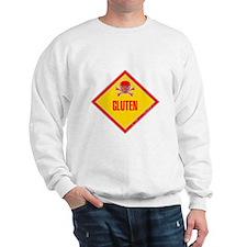Gluten Poison Warning Sweatshirt