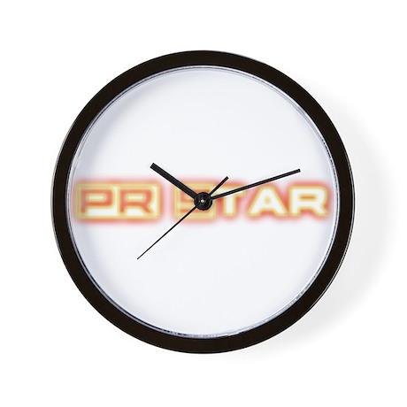 PR Star Neon Wall Clock by kigapparel #1: pr star neon wall clock height=460&width=460&qv=90