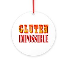 Gluten Impossible Ornament (Round)