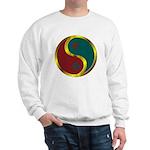 Templar Prosperity Symbol on a Sweatshirt