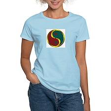 Templar Prosperity Symbol on a T-Shirt
