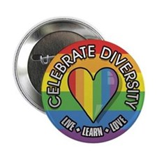 Celebrate Diversity 2.25 inch Button