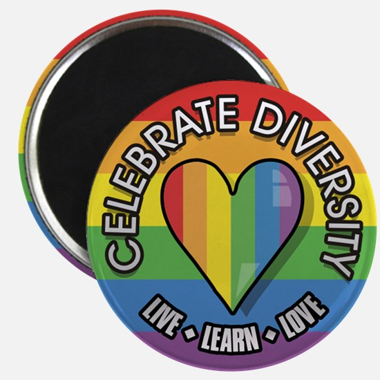 Celebrate Diversity 2.25 inch Magnet