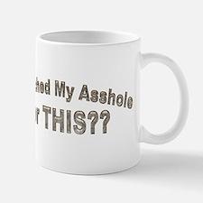 bleached asshole Small Small Mug