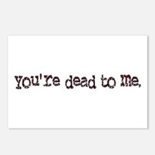 dead to me Postcards (Package of 8)